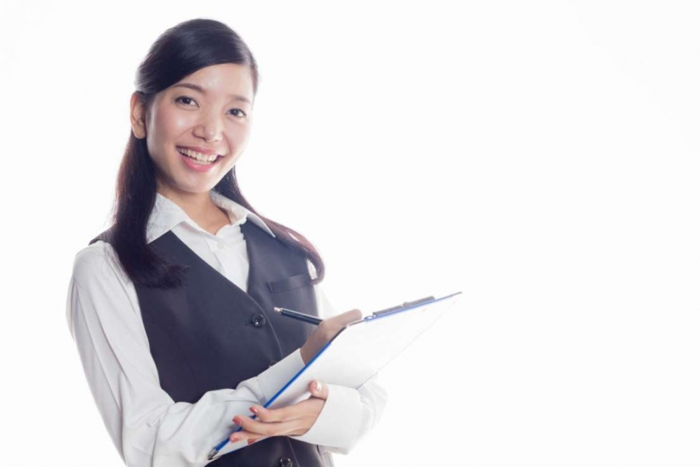事務の女性8